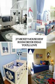 Love Bedroom Decor 27 Mickey Mouse Kids Room Daccor Ideas Youll Love Shelterness