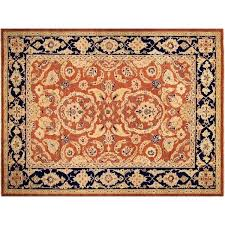orange and blue area rug downtown west village orange blue area rug