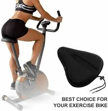 large exercise bike gel seat cushion