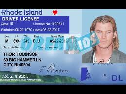 Drivers Ids ri 2019 - Dream Island License Rhode Old