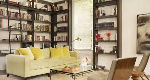 21 living room bookshelf designs