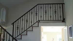 Staircase Railing Ideas wrought iron stair railing ideas with handrails for staircase 3728 by xevi.us