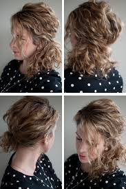 Second Day Curly Hairstyles How To Style Second Day Short Curly Hair Hairs Picture Gallery