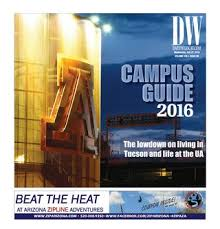 Campus Wildcat Issuu Guide Arizona Daily By 2016 r4Y7ranP