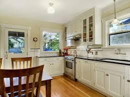 craftsman kitchen lighting. finished period kitchen 1925 craftsman bungalow white lighting