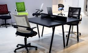 image modern home office desks. Perfect Combination Of Workdesk And Chair For The Ergonomic Home Office Image Modern Desks
