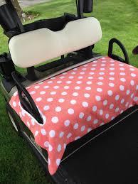 Golf Cart Seat Cover Pattern Interesting Inspiration Ideas