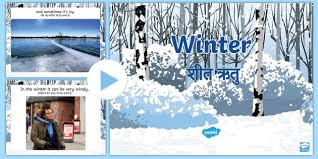 Winter Powerpoint All About Winter Powerpoint English Hindi Winter