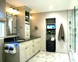 homcom wooden bathroom laundry hamper cabinet white bathrooms winning tower with impressive vanity tow