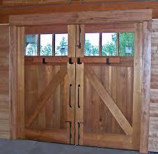 barn doors door frame framed art gallery