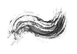無料筆文字素材波 No261のダウンロードページですフリー筆文字素材
