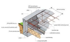 Reinforced Concrete Pad Foundation Design Example Concrete Foundation Wall Reinforcing Building Performance