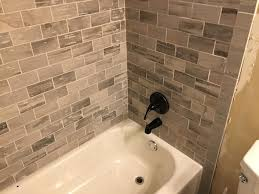 how to install 3 x 6 subway wall tiles