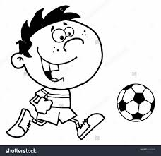 Small Picture And Color Soccer Coloring Pages Youtube Free Printable Free Soccer