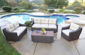 Jj Designs Amazon Com Jj Designs South Beach 4 Pc Deep Seating Set