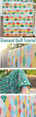 Best 25+ Quilting tutorials ideas on Pinterest | Quilting ... & Kissing Diamonds Quilt Tutorial Adamdwight.com