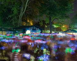 silent rave bohemian beer garden astoria 2016