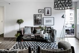 modern living room black and white. Black And White Living Room Idea 68 Modern E