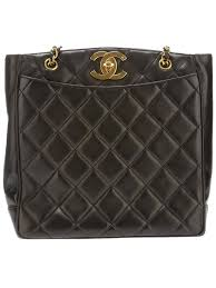 32 best MAGIC OF BLUE BAGS images on Pinterest | Leather bags ... & Chanel Vintage quilted tote bag Adamdwight.com