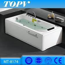 278 usd chinese air bubble and whirlpool massage type 2 sided skirt bathtub for fat people china bathtub for fat people 2 sided skirt bathtub