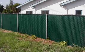 Brilliant Chain Link Fence Slats Green Vinyl With Intended Design Inspiration