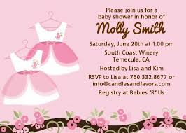 baby shower invitations for girls templates twin little girl outfits baby shower invitations candles and favors