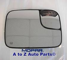 mopar no warranty car truck exterior mirrors genuine oem 2005 2009 dodge ram 2500 3500 power tow mirror heated passenger side glass oem