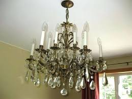full size of brass chandelier makeover with chalk paint and crystal vintage for in inten