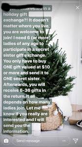 Christmas Gift Exchange Email