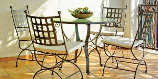 wrought iron patio table and 4 chairs. top outdoor wrought iron patio furniture with garden table and 4 chairs e