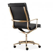eames style office chairs. Wonderful Office Charles Eames Style Office Padded Faux Leather Mastermind Chair High Back  Black And Gold  Specialist Furniture Contracts Intended Style Chairs