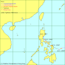 Typhoon Tracking Chart Weather Wonderland Tropical Cyclone Warning Centre