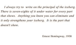 on the topic of hemingway editor the writing cooperative a prelude