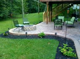 concrete patios with fire pits stamped concrete patio with fire pit concrete patio fire pit stamped