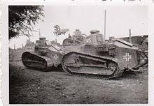 Captured FT Tanks In German Service Serbia (World War II)  E