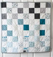 281 best Baby Quilt Patterns images on Pinterest | Baby quilt ... & Grab some fat quarters and learn how to make a stunning and stylish baby  quilt pattern Adamdwight.com