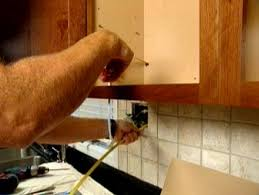 Installing under cabinet lighting Hardwired Run Wire Out Bottom Of Cabinet To Nearby Switch How To Install Kitchen Lighting