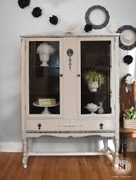 gf chalk style china cabinet review antique distressed furniture