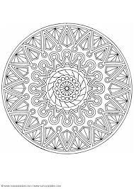 Kleurplaat Hartjes Bloemen Malvorlage Mandala 1702i Ausmalbild 4525