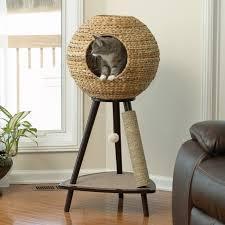 Sauder Bedroom Furniture Sauder Woodworking Natural Sphere 437 In Cat Tower Walmartcom