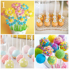 Cake Balls Decorating Ideas Top 100 Festive Spring Cake Pops Spring cake Cake pop and Cake 2