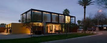 Modern industrial homes Style Sosnowskihome4jpg Trendir Arizona Desert Homes Modern Arizona Architecture