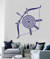 vinyl decal crossbow dart target arrows