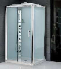 shower cubicles self contained. Brilliant Self Model Illustrated Right GLAX 2 1200 X 800 Offset Corner Shower Cubicle  With Single Sliding Door And Dome And Shower Cubicles Self Contained H