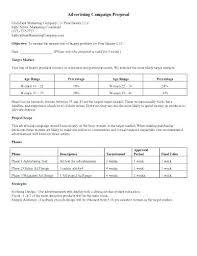 Advertising Proposal Template Word Radio Advertising Proposal Template Sample Templates In Word