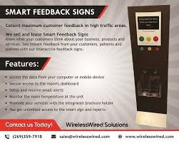 Smart Feedback Signs - Wirelesswired Solutions