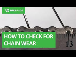 How To Check For Chain Wear With Video Bikeride