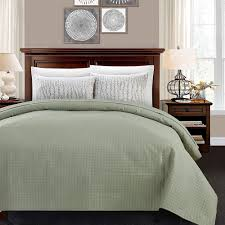 quilted bed covers. Unique Bed Sage ALPHA HOME Quilted Bed  Throughout Covers Q