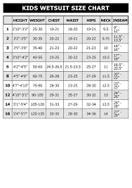 Wetsuit Size Chart Child How To Correctly Size Your Triathlon Wetsuit Circumstantial