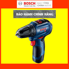 CHÍNH HÃNG] Máy Khoan Bắt Vít Dùng Pin Bosch GSR 12V-30, Tốc Độ Khoan  Nhanh, Mô-tơ Không Chổi Than chính hãng 3,725,000đ